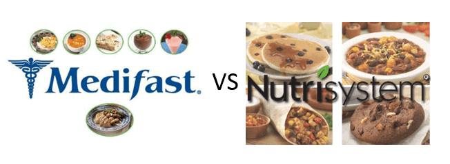 Medifast VS Nutrisystem – Cost, Taste, Results and Other Factors Compared