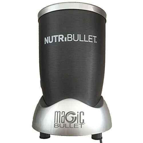 the magic bullet only has a 250watt motor the cross blades are able to chop through most frozen produce and ice but you donu0027t get as much power in your - The Bullet Blender