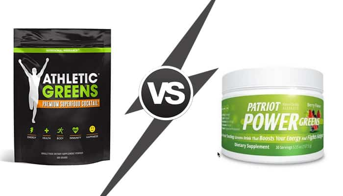 athletic greens vs patriot power greens - which one is better