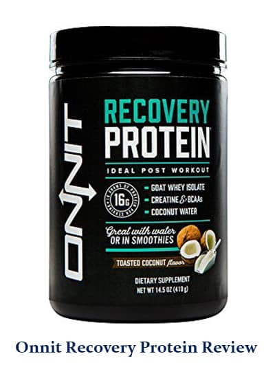 the full onnit recovery protein review to love