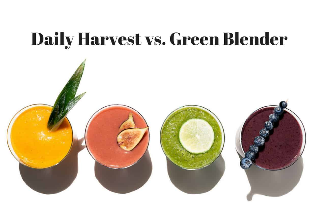 Daily Harvest vs. Green Blender