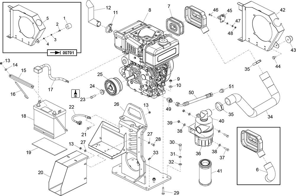 Altrad Belle :: Belle Spare Parts : TDX 650 Twin Drum