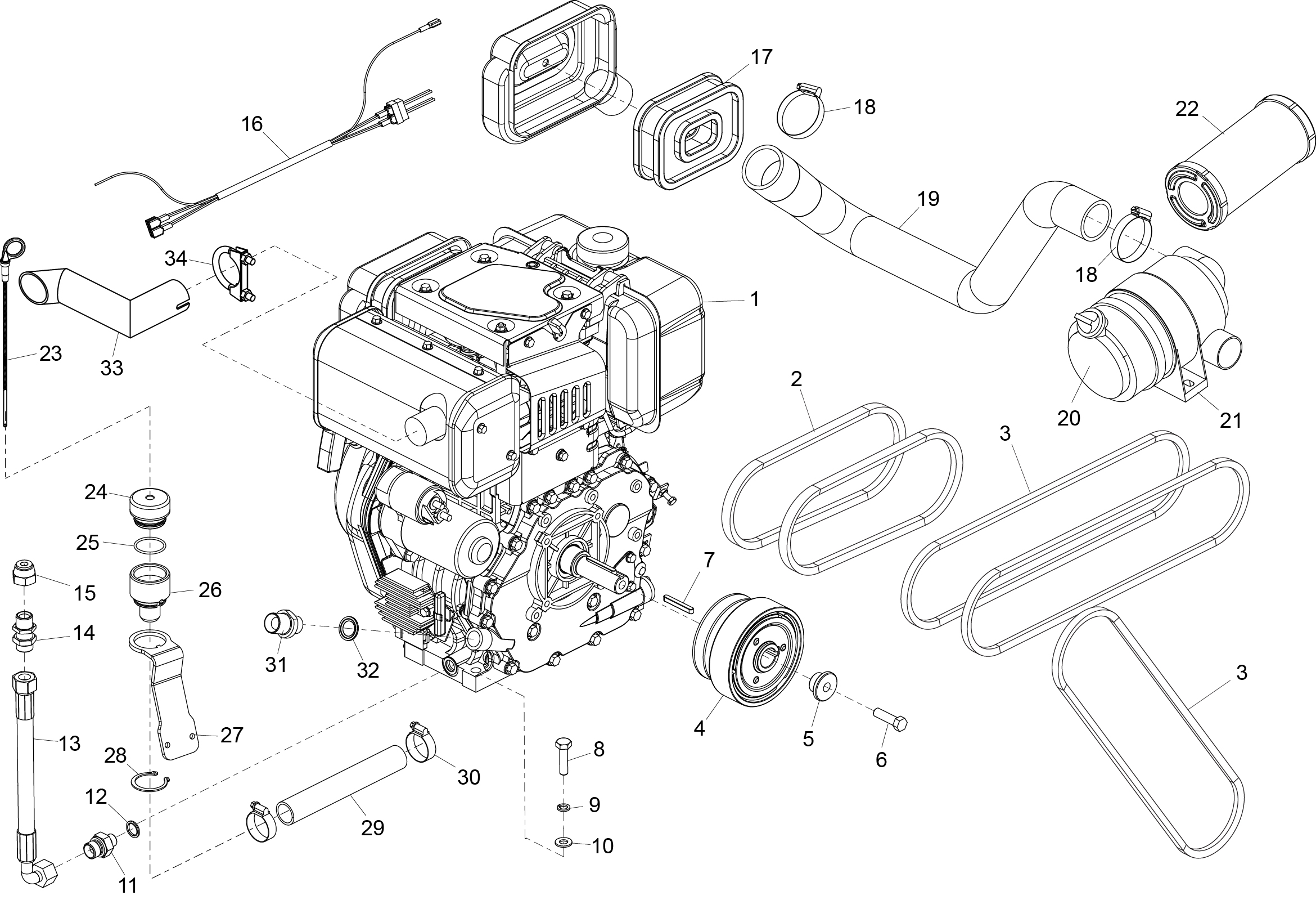 Kubota L3650 Tractor Within Kubota Wiring And Engine