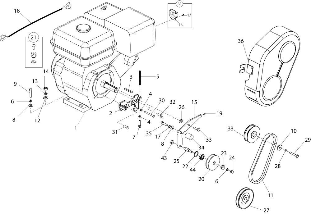 Altrad Belle :: Belle Spare Parts : PT Range Pro & Pro