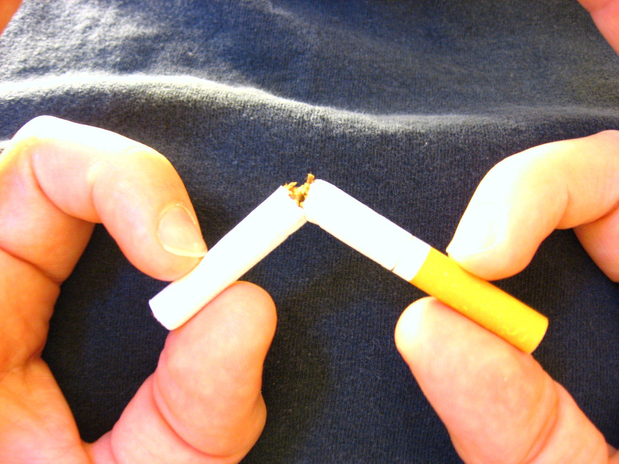 Wann hört die schmacht nach zigaretten auf