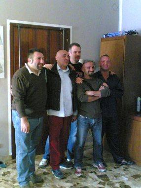 """Mappa, Roby, Cali, Angelino von der BRN und der """"Bruder von Fabio"""""""