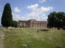 """Paestum - """"Neptun""""-Tempel und """"Basilica"""""""