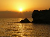 Cilento Sonnenuntergang