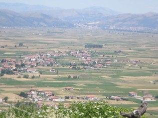 Teggiano - Ausblick in das Vallo Diano