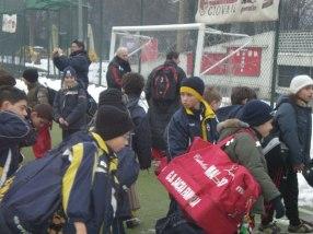 Der Milan-Nachwuchs beim Training