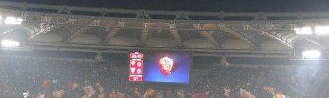 Choreografie AS Roma-Lecce, 20.11.2011