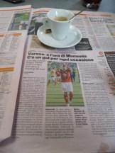 journalistische Recherche für Varese gegen Hellas