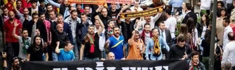 Protest gegen Fankarte Passolig in Izmir, 2013
