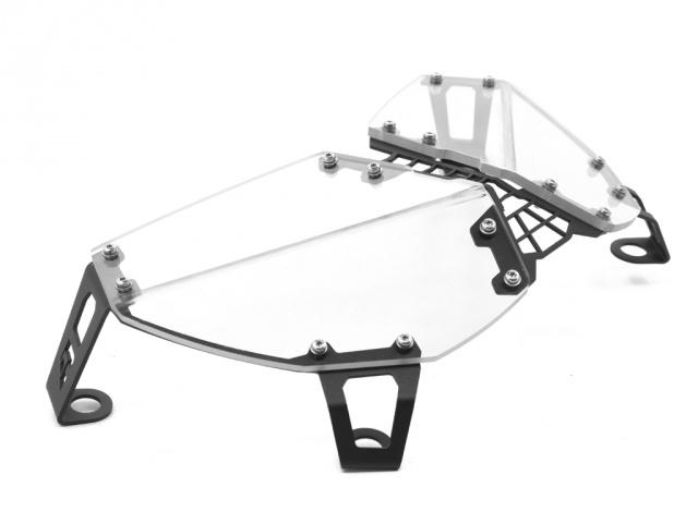 Clear Headlight Guard for the Yamaha Super Tenere XT1200Z