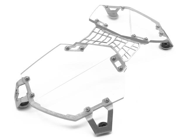 Clear Headlight Guard for the Triumph Tiger 800 AltRider