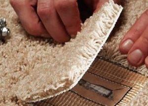 Carpet repair and recolouring