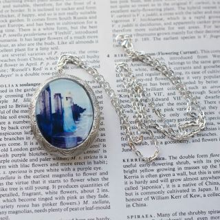 silver-pendant-with-photo-of-lady-standing-in-water-by-nicola-taylor