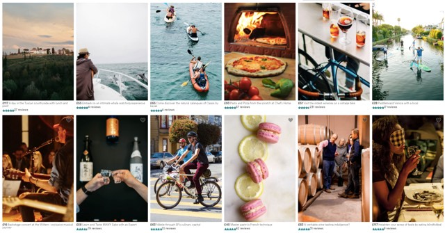 Airbnb local experiences examples