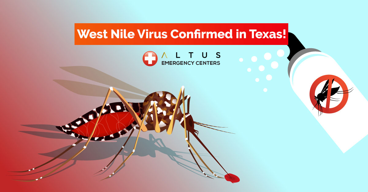 First Case of West Nile Virus Confirmed in Texas for 2019