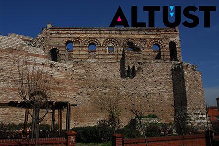 Blahernai Sarayı'nın ayakta kalabilen tek yapısı Tekfur Sarayı