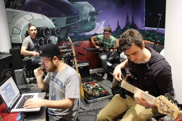 Enter Shikari recording new music | Photo: Enter Shikari