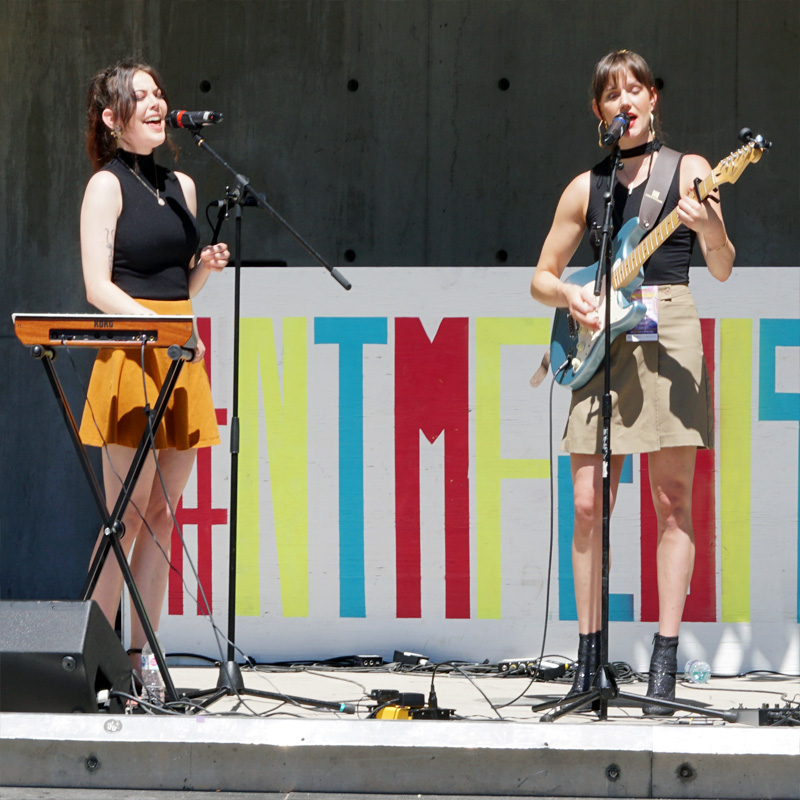 Courtney Devon and Kenzie Jane at NTMF 2019