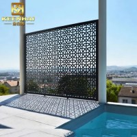 Powder Coated Outdoor Metal Screen Panels For Sale