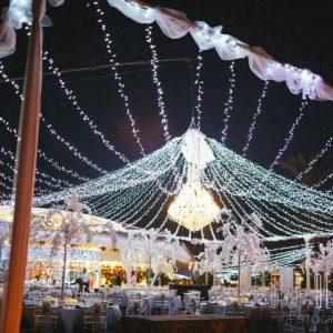 Iluminação de Casamentos.