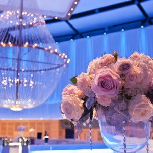 Lustre grande casamento Hilton Malta hotel