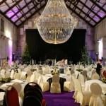 Iluminação jantar de gala lustre gigante noche vieja