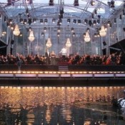 Decoracion concierto elegante