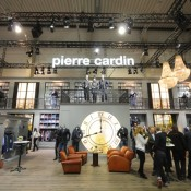 iluminacion lamparas decorativas para carpas stand Pierre Cardin