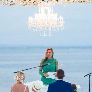 Iluminação e decoração de Casamentos-Collados-Beach
