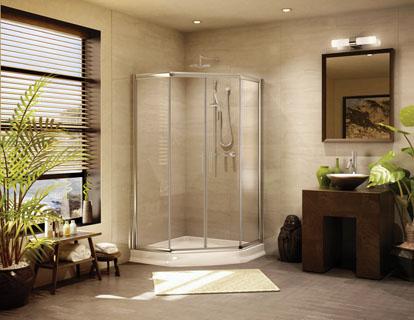 Kula Collection  Shower Doors Bathroom Enclosures