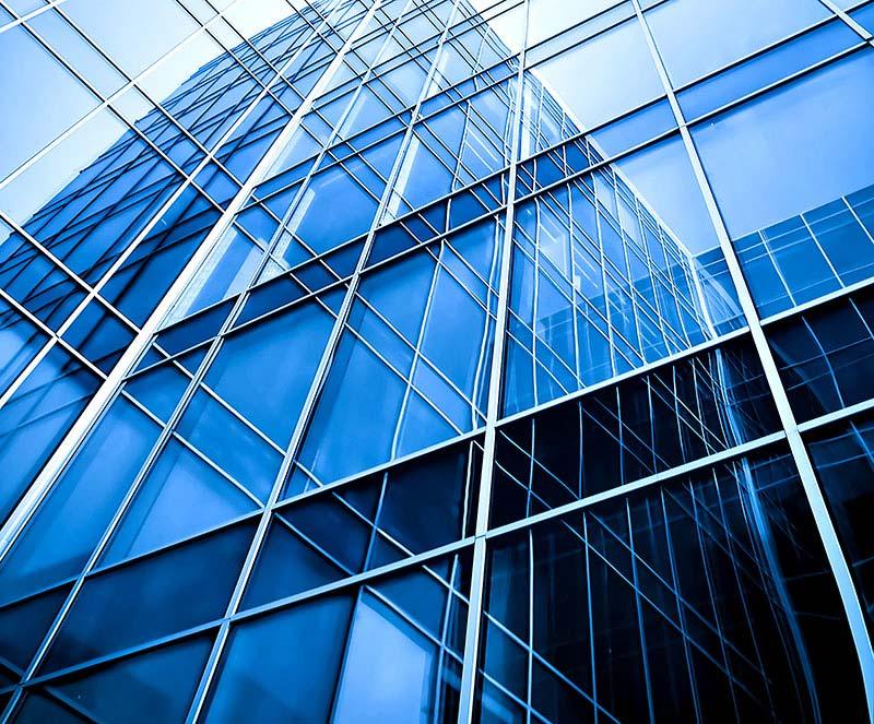 Curtain wall/ Semi Unitized Glazing