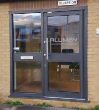 Commercial Aluminium Doors and Shop Screens