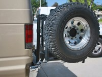 Ford Van Tire Rack 2008-2014 | Aluminess