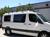 Mercedes Sprinter Roof Racks | Aluminess