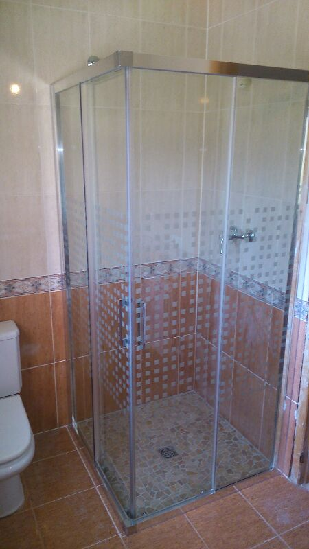 mampares dutxa a El Vendrell