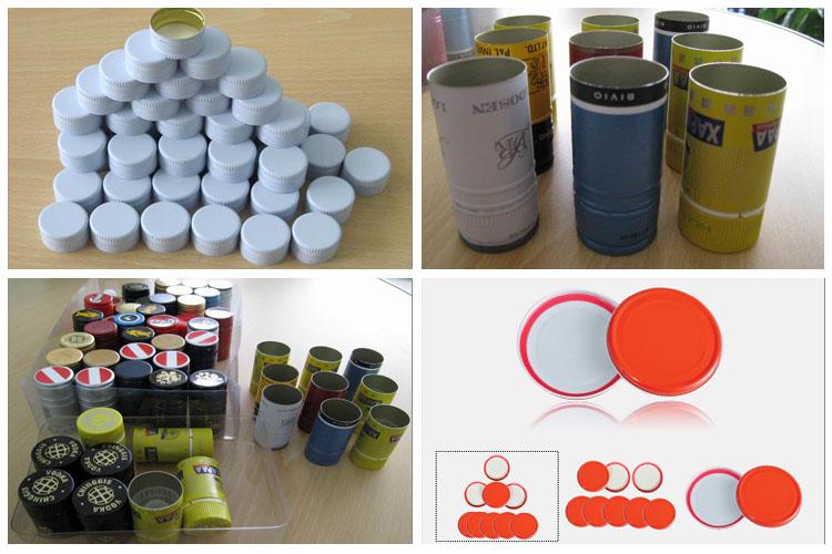 Aluminium closure sheets / coils for the bottle cap market