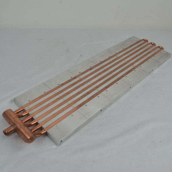 Cold Plate Copper Tube Water Cooled Heat Sink Aluminum