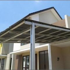 Pasang Canopy Baja Ringan Depok Harga Per Meter Kanopi Galvalum | Aluminiumkacadepok.com