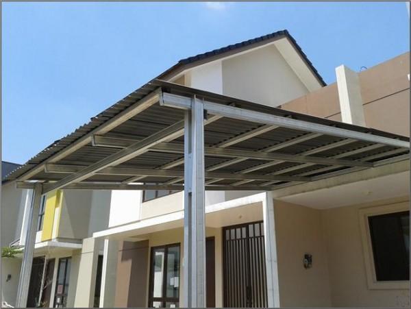 harga atap baja ringan paling murah per meter kanopi galvalum | aluminiumkacadepok.com
