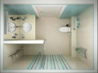 desain kamar mandi minimalis ukuran 2x2 1