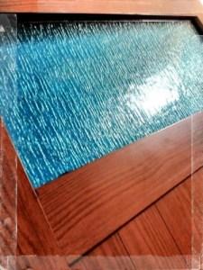 Daun Pintu Aluminium Motif Kayu