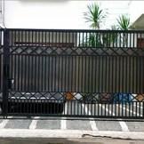 pintu pagar minimalis modern