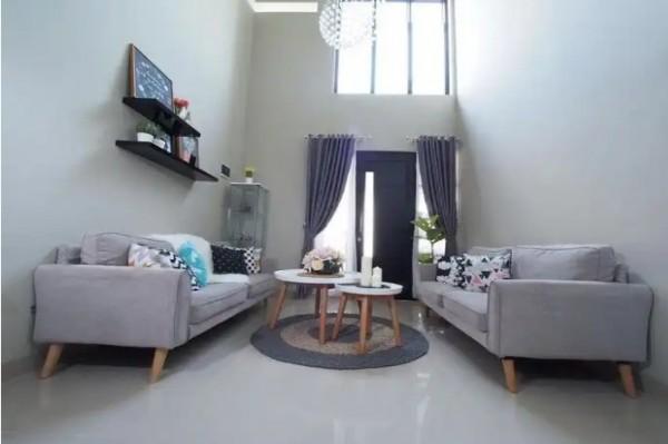Plafon ruang tamu minimalis