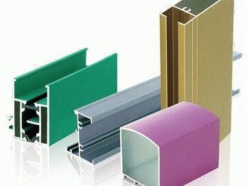 contoh warna kusen aluminium