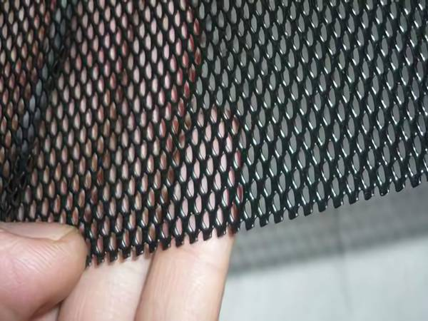 Aluminum Expanded Metal in Flattened and Raised Surface