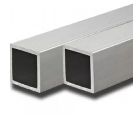 Alloy 6063 / 6061 Aluminum Extrusion Rectangular Tube With ISO9001